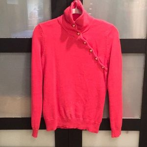Lily Pulitzer hot pink turtleneck sweater